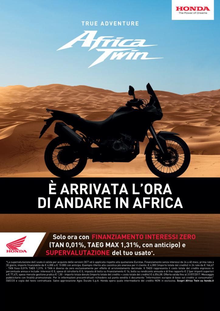 – CRF1000L Africa Twin- E' arrivata l'ora di andare in Africa